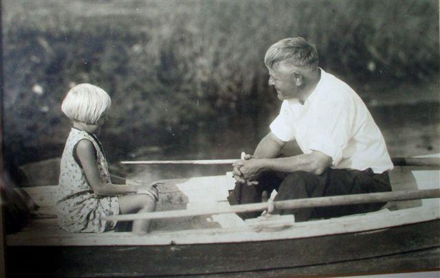 mom and grandpa